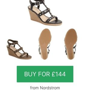 Via Spiga 'Indya' Wedge Sandals